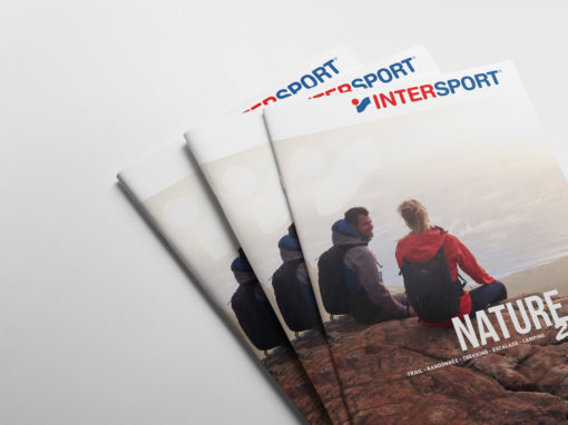 #DirectionArtistique #Edition #PLV Intersport